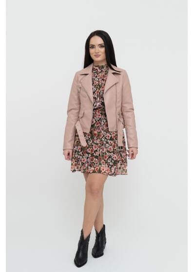 Jacheta roz piele ecologica