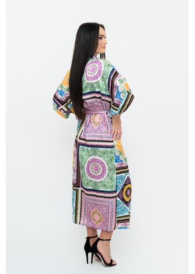 rochie caftan de dama colorata