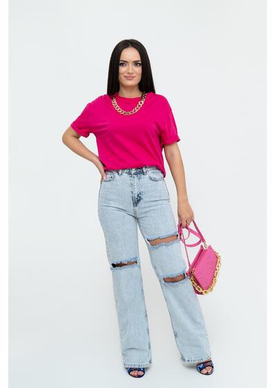 Tricou lant pink
