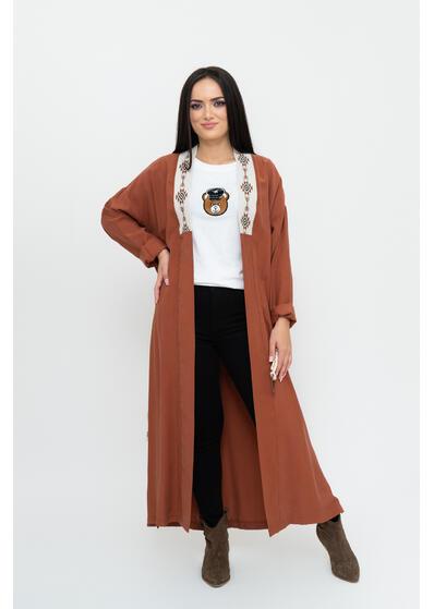 blazer cardigan kimono de dama lung
