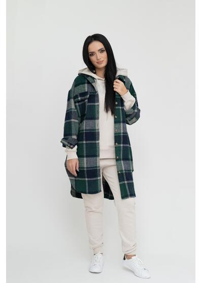 camasa lunga carouri verzi