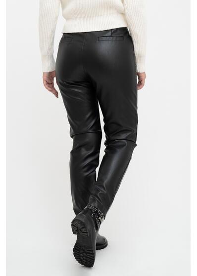 pantaloni din piele de dama