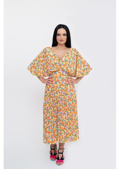 rochie de vara eleganta cu floricele