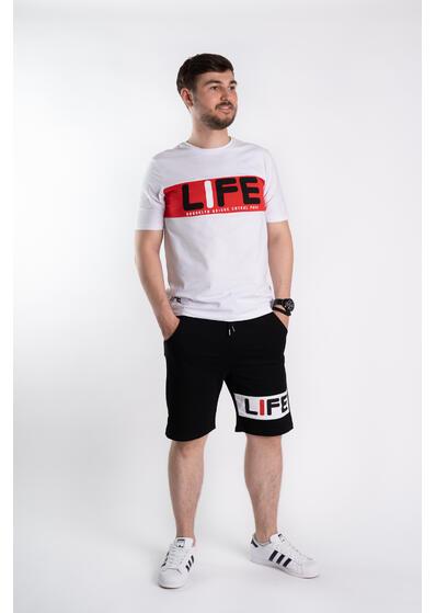 Trening barbati Life - alb