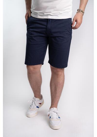 pantaloni scurti barbati casual albastru
