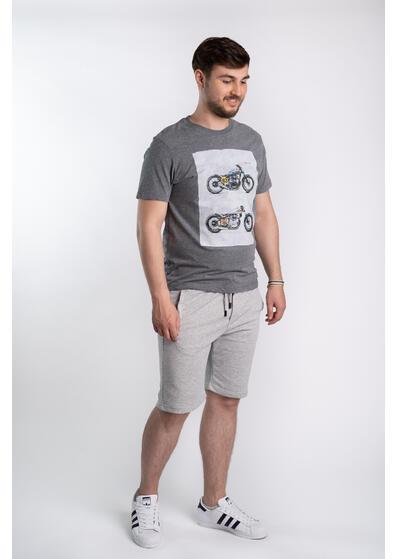 Pantalon scurt sport - gri